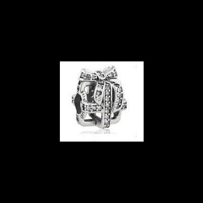 Conta de prata 925 compatível com pandora (prenda)