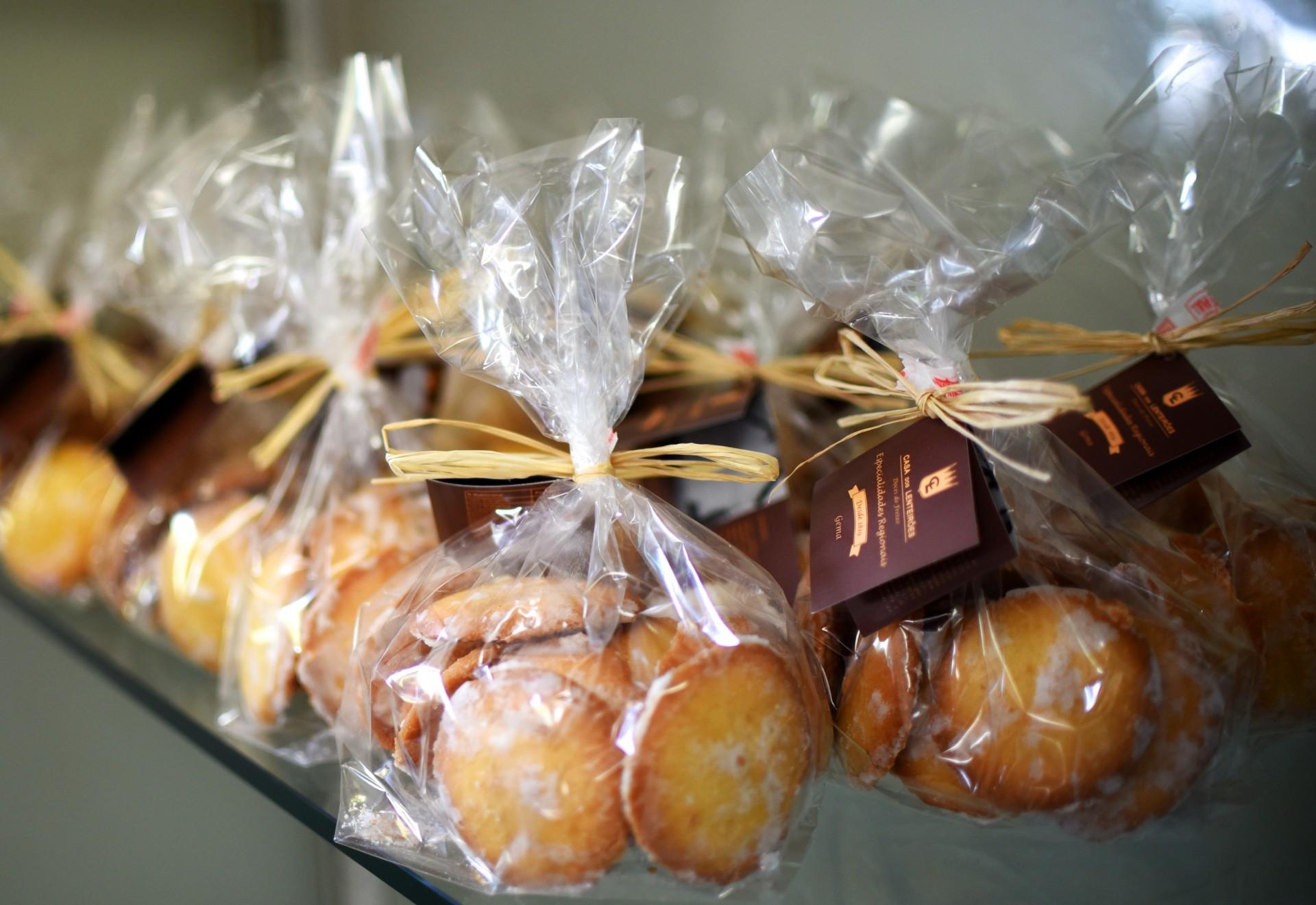 Biscoitos de Gema 190g   Doces do Freixo - Casa dos Lenteirões