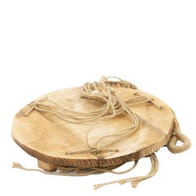 Prateleira suspensa em madeira